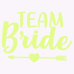 Tatuaż Panieński – Team Bride – Strzała – Neon wieczór panieński sklep