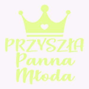 Tatuaż Panieński – Przyszła Panna Młoda – Korona – Neon  prezenty na wieczór panieński