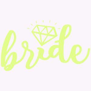 Tatuaż Panieński – Bride – Diament – Neon gadżety na panieński
