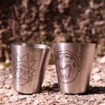 Rick and Morty – Piersiówka z Kieliszkami prezent dla szefa