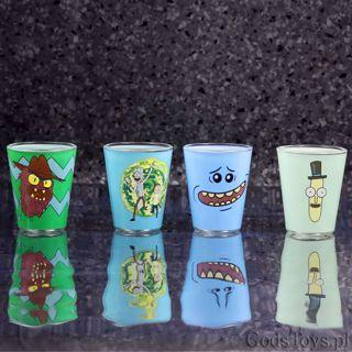 Rick and Morty – Komplet kieliszków prezent dla brata