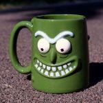 Rick and Morty - Kubek 3D – Pickle Rick prezent dla niego