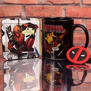 Deadpool – Zestaw Prezentowy  prezent dla brata