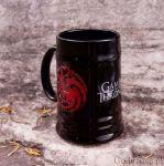 Gra o Tron – Kufel Targaryanów - Czarny prezent dla chłopaka