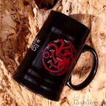 Gra o Tron – Kufel Targaryanów - Czarny prezent dla niego