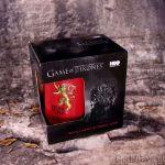 Gra o Tron – Kufel Lannisterów - Bordo prezent dla chłopaka na urodziny