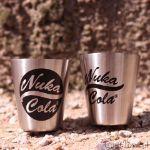 Fallout – Piersiówka z Kieliszkami – Nuka Cola prezent dla chłopaka