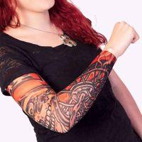 Rękaw z tatuażem ghost rider akcesoria imprezowe