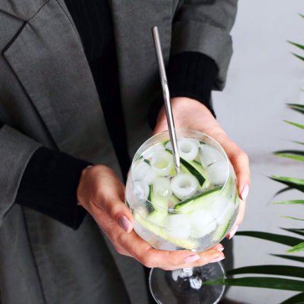 Stalowe słomki z czyścikiem metalowe słomki do napoi