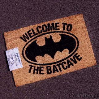 Wycieraczka Batmana Welcome to Batcave prezent dla brata na urodziny