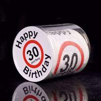 Urodzinowy papier toaletowy śmieszny prezent na 30 urodziny