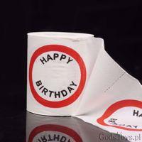 Urodzinowy papier toaletowy prezent na urodziny dla niego