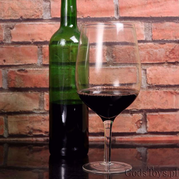 Kieliszek Olbrzyma Gigantyczny kieliszek do wina prezent dla dziewczyny