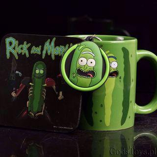 Zestaw prezentowy Rick and Morty brelok kubek podkładka prezent dla fana serialu warszawa