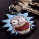 Rick and Morty Brelok do kluczy szalony rick śmieszny prezent dla fana serialu