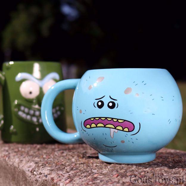 Rick and Morty Kubek Pan miszuk pomysł na prezent dla fana serialu warszawa