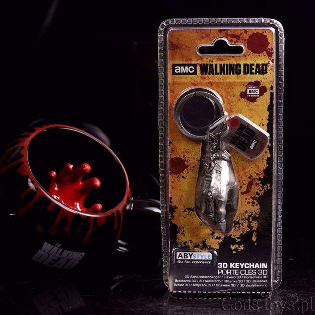 The walking dead brelok ręka zombie prezent dla fana serialu