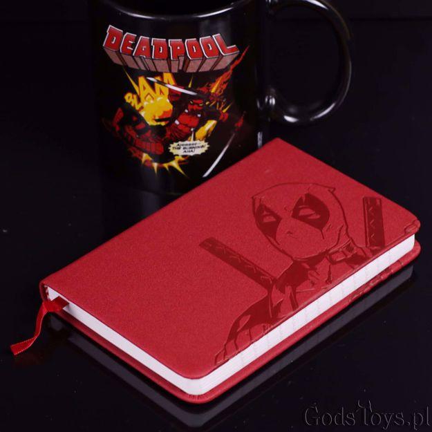 Deadpool notes kieszonkowy prezent dla fana deadpoola