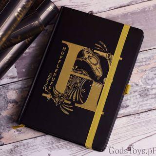 Harry Potter złoty notes hufflepuff akcesoria biurowe z harrego pottera warszawa