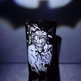 Szklanka batman i joker gadżety na licencji z batmana sklep warszawa