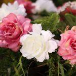 Wianek Piwonia brudny róż wianek na głowę warszawa panieński