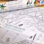 Mapa zdrapka szlaki tatr prezent dla szefa