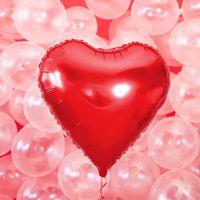 Balon wielkie czerwone serce balony z helem