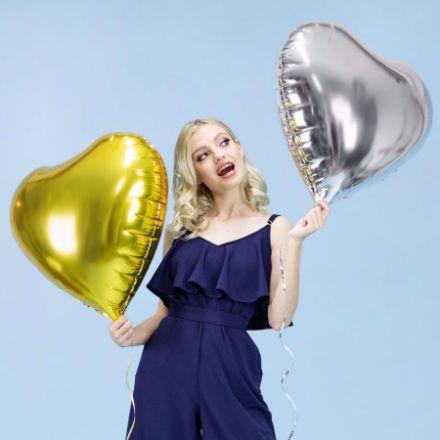 Balon wielkie serce pomysł na gadżety na imprezę