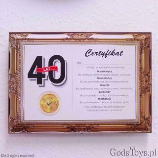 Prezenty Na 40 Urodziny Na Czterdziestkę Godstoyspl