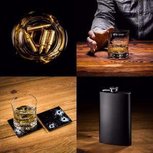 Gitarowy zestaw do whisky akcesoria alkoholowe