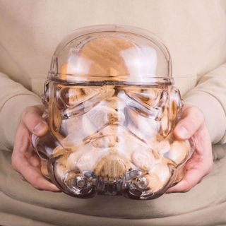 Pojemnik na Ciastka Stormtrooper z Drewnianą Zatyczką prezent dla fana starwars