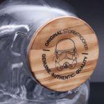 Pojemnik na Ciastka Stormtrooper z Drewnianą Zatyczką prezent dla szefa