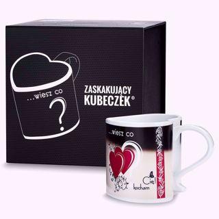 Zaskakujący Kubeczek Deluxe Kocham Cię pomysł na prezent na walentynki
