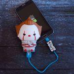 PowerSquad - Powerbank Pennywise gadżety z filmu TO prezent  do telefonu dla niej