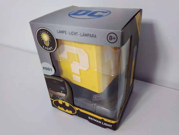 Outlet Lampka Mario Batman prezent dla dziecka