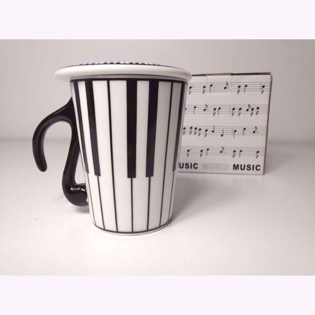 Outlet Kubek Muzyka - Klawisze prezent dla muzyka