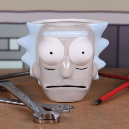 Rick & Morty – Kubek Rick 3D prezent dla fana serialu rick&morty
