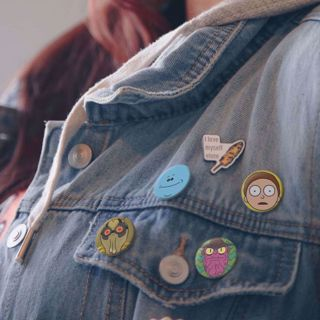 Przypinki Rick & Morty prezent dla fana serialu rick&morty