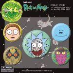 Przypinki Rick & Morty prezent dla dziewczyny