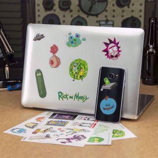 Zestaw 30 Naklejek Rick & Morty prezent dla dziewczyny