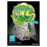 Zestaw 30 Naklejek Rick & Morty prezent dla przyjaciela