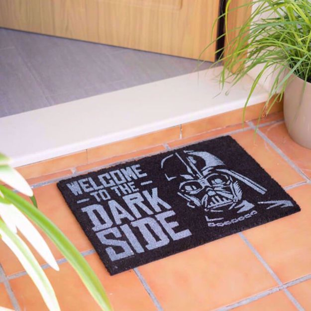 Star Wars Wycieraczka Welcome to The Dark Side prezent na ślub