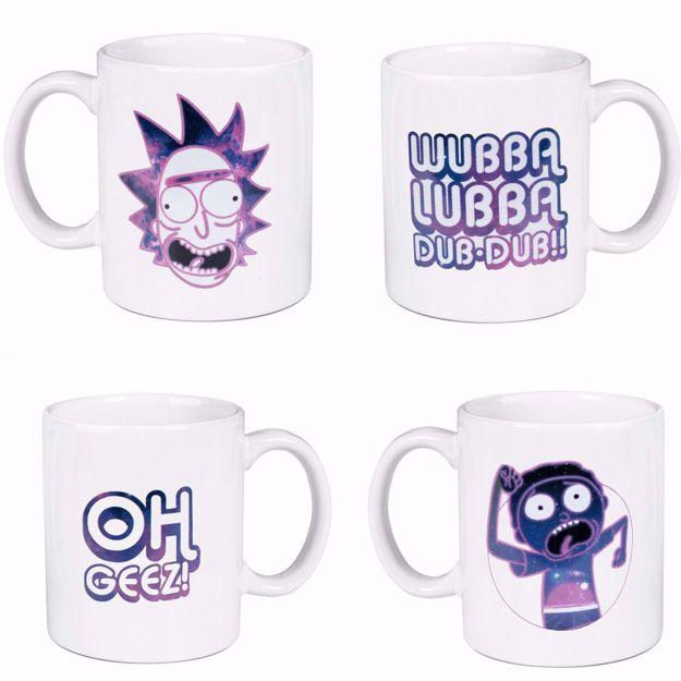 Rick & Morty – Zestaw Galaktycznych Kubków prezent dla chłopaka