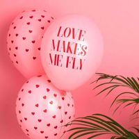 Balony na Wieczór Panieński love makes me fly prezenty na panieński