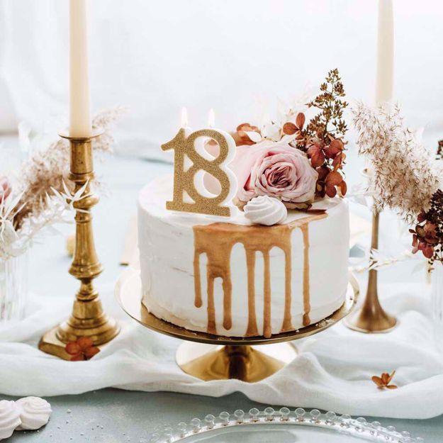 Świeczka Urodzinowa 18 gadżety na 18