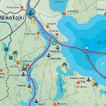 Mapa Zdrapka – Szlakiem Wielkich Jezior Mazurskich prezent dla żony