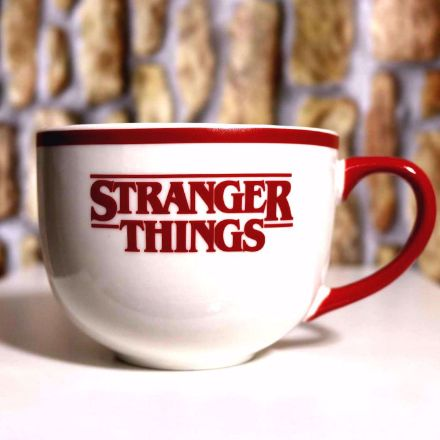 Duża Filiżanka Stranger Things prezent dla siostry netflix