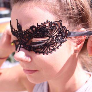 Koronkowa Maska Wenecka maski i przebrania sklep