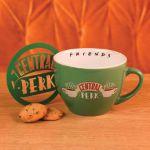 Friends – Duża Filiżanka Central Perk Zielona prezent dla przyjaciółki
