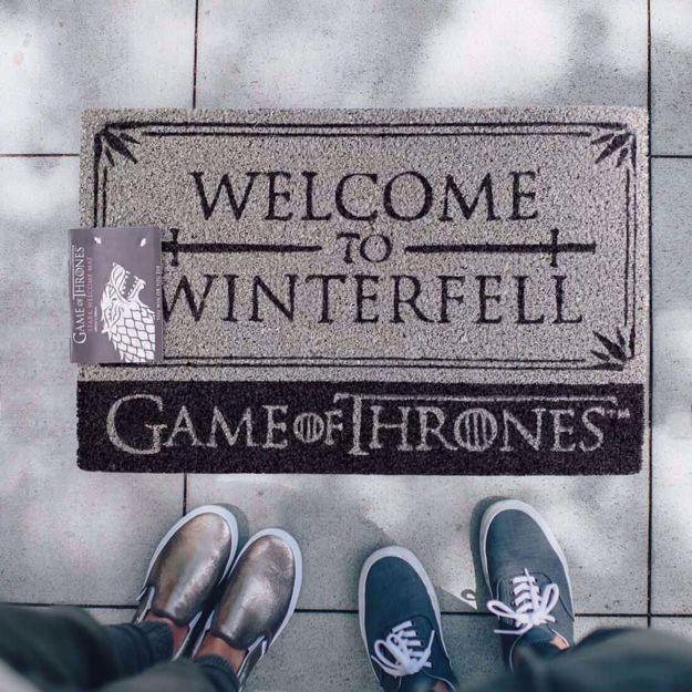 Gra o Tron – Wycieraczka Welcome in Winterfell prezent dla brata